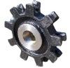 Forged chain wheel