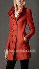 Bright-coloured Winter A-Line Wool Coat for Women 2012 Hsc-1501