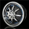 aluminum wheel rim for cars with CE V13