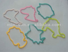 2012 Hot selling eco-friendly silicone elastic band