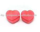 heart shape soft sponge hair roller