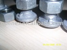 Guard rail bolt,mushroom bolt,hex bolt,hot dip galvanized bolt,threaded rod