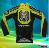 sublimation long sleeve cycling wear
