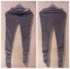 2011 fashion silver lady pantalon collant ladies tight pants