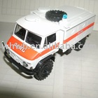 WHW-3011 die cast ambulance model