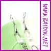 2012 popular plafashion cross earrings for women wholesale