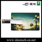 wallet credit card usb drive, custom credit card usb flash disk, slim plastic credit card usb 16gb