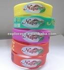 Lovely silicone bracelets gift bracelets