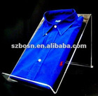 Acrylic T-Shirt Display, Perspex Clothes Display, Plexiglass T-Shirt Stand