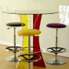 colorful clear acrylic table and chair