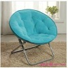 Flannelette Portable Moon Chair