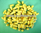 cylinder earplugs/explosion proof products/sound proof products/PU foam protection earplug/polyurethane factory