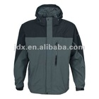 Man's ski jacket with black & gray color