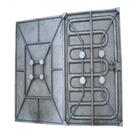 Cast aluminium heater plate