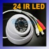 24 LED CCTV IR Dome Surveillance Camera