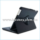 2012 New style slim bluetooth keyboard with leather case for ipad2