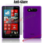 Frosted Screen Protector Film for Nokia Lumia 820(Anti-Glare)