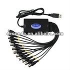 8CH RealTime USB CCTV Video Capture Card USB DVR Box For Win XP/Vista/7 32&64bit