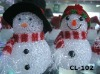 lighted acrylic snowman outdoor lighted plastic snowman with led light