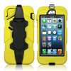 For iPhone 5 Shockproof Cover Firmly Clamp 3 in 1 Protector