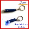 money test torch with keychain