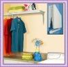 POM folding shelf with rod
