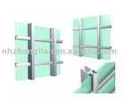 frame-shown curtain wall