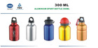 Aluminium Sport Bottle(300 ML)