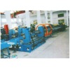 Automatic production line for fire or safety door