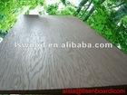 cherry wood veneer/melamine paper faced particle board
