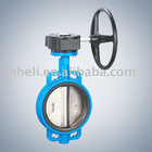 electric actuator wafer butterfly valve with hand wheel