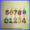 Number Maze Game With Keychain