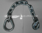 "18"" Chain Anchor With Forged Pear Ring"