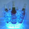LED light plastic ice bucket for promotional gifts