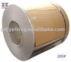CR S/S MATERIAL COILS 201