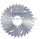 T.C.T Circular Saw blade with thinner rakers for multi-ripping