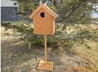 2013 factory Bamboo house pet bird nest bird's nest bird room bird house cage