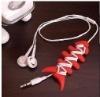 Silicone bobbin for earphone