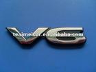 Popular ABS auto decoration car logo badge,emblem letter badge