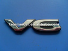Popular ABS auto decoration car logo badge,emblem letter badge