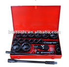 "21pc socket set,,1''Drive,1-5/8""--3-1/8"""