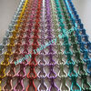 2012 latest sparkling aluminum chains assembled curtain design