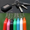 Solar panel emergency light LED flashing light keychain light