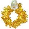 Wire Garland - Gold Snowflake