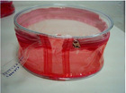 clear PVC make ip bag and storage bag