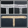 2012 New model Crystal Rhinestone lady shoes Sandal Chains
