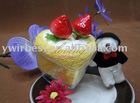 100% cotton towel cake gift(WBA-040)