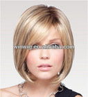 wholesale natrual straight 10inch short style virgin indian remy hair cheap full lace human hair wigs NYHWIG-C0195