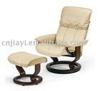 white pu recliner chair JY-8030