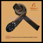 Fabric Zodiao Pattern Buckle Cotton Webbing Belts